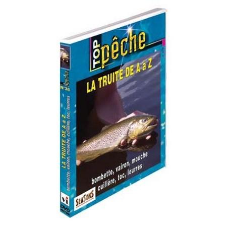 DVD - LA TRUITE DE A À Z : BOMBETTE, VAIRON, MOUCHE, CUILLÈRE, TOC, LEURRESS  - PÊCHE DE LA TRUITE - TOP PÊCHE