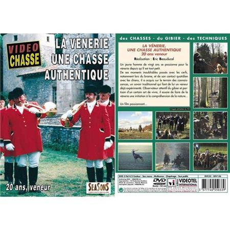 DVD - LA VÉNERIE, UNE CHASSE AUTHENTIQUE  - CHASSE DU GRAND GIBIER - VIDÉO CHASSE