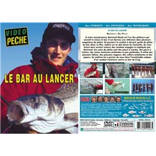 DVD - LE BAR AU LANCER AVEC BERTRAND GAUJE - PECHE EN MER - VIDEO PECHE