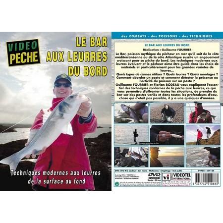 DVD - LE BAR AUX LEURRES DU BORD DE LA SURFACE AU FOND AVEC GUILLAUME FOURRIER - PECHE EN MER - VIDEO PECHE