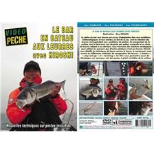 DVD - LE BAR EN BATEAU AUX LEURRES AVEC HIROSHI - PECHE EN MER - VIDEO PECHE