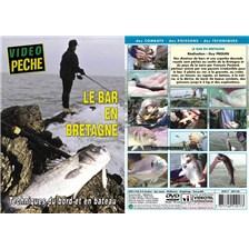 DVD - LE BAR EN BRETAGNE TECHNIQUES DU BORD ET EN BATEAU - PECHE EN MER - VIDEO PECHE