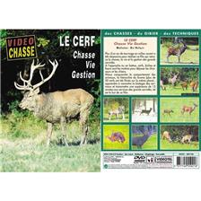 DVD - LE CERF : CHASSE, VIE, GESTION  - CHASSE DU GRAND GIBIER - VIDÉO CHASSE