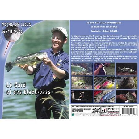 DVD - LE GARD ET SES BLACK-BASS  - PECHE DES CARNASSIERS - PECHE EN LIEUX MYTHIQUES