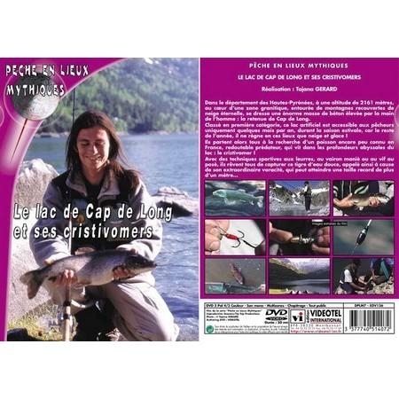 DVD - LE LAC DE CAP DE LONG ET SES CRISTIVOMERS  - PÊCHE DE LA TRUITE - PÊCHE EN LIEUX MYTHIQUES