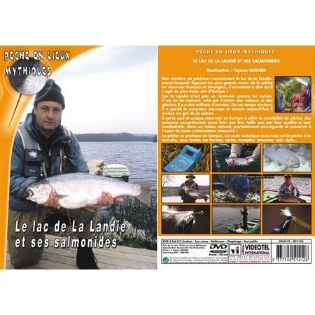 DVD - LE LAC DE LA LANDIE ET SES SALMONIDÉS  - PÊCHE DE LA TRUITE - PÊCHE EN LIEUX MYTHIQUES