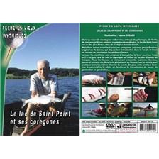 DVD - LE LAC DE SAINT POINT ET SES COREGONES  - PECHE DES CARNASSIERS - PECHE EN LIEUX MYTHIQUES