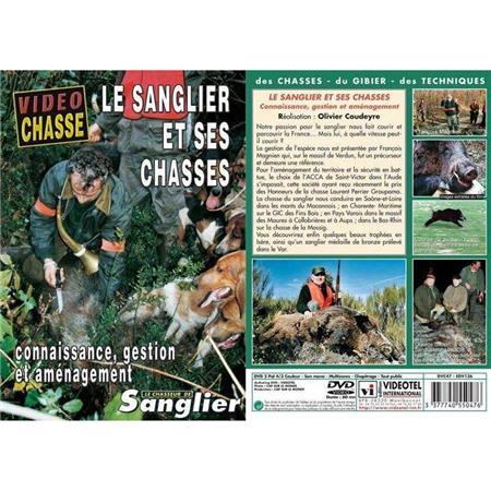 DVD - LE SANGLIER ET SES CHASSES : CONNAISSANCE, GESTION, AMÉNAGEMENT  - CHASSE DU GRAND GIBIER - VIDÉO CHASSE