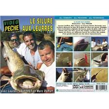 DVD - LE SILURE AUX LEURRES AVEC LAURENT JAUFFRET ET MARC DUPUY - PECHE DES CARNASSIERS - VIDEO PECHE