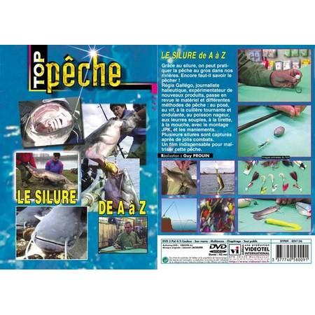 DVD - LE SILURE DE A À Z  - PECHE DES CARNASSIERS - TOP PECHE