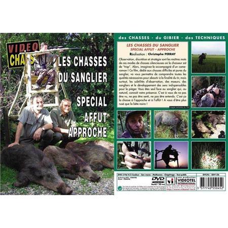 DVD - LES CHASSES DU SANGLIER : SPÉCIAL AFFÛT APPROCHE  - CHASSE DU GRAND GIBIER - VIDÉO CHASSE