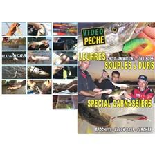 DVD - LEURRES SOUPLES & DURS SPÉCIALS CARNASSIER : BROCHETS - BLACK-BASS - PERCHES AVEC MATHIEU COURADEAU - PÊCHE DES CARNASSIERS - VIDÉO PÊCHE