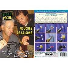 DVD - MOUCHES DE SAISON AVEC JEAN-MARC CHIGNARD ET JEAN-MARC SOMARÉ - PÊCHE A LA MOUCHE - VIDÉO PÊCHE