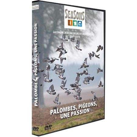 DVD - PALOMBES, PIGEONS, UNE PASSION - CHASSE DU PEIT GIBIER - SEASONS