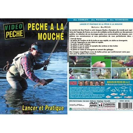 DVD - PÊCHE À LA MOUCHE AVEC JACQUES BOYKO - PÊCHE A LA MOUCHE - VIDÉO PÊCHE