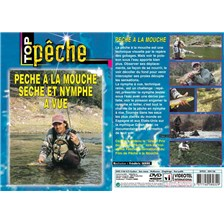 DVD - PÊCHE À LA MOUCHE SÈCHE ET NYMPHE À VUE  - PÊCHE A LA MOUCHE - TOP PÊCHE