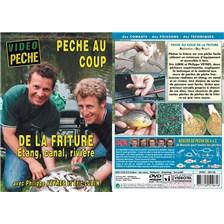 DVD - PECHE AU COUP DE LA FRITURE : ETANG, CANAL, RIVIÈRE AVEC PHILIPPE VEYRES ET ERIC LUBIN - PECHE AU COUP - VIDEO PECHE