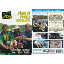DVD - PECHE DE L'OMBLE CHEVALIER TECHNIQUE & PRATIQUE AVEC LAURENT JAUFFRET - PECHE DE LA TRUITE - VIDEO PECHE