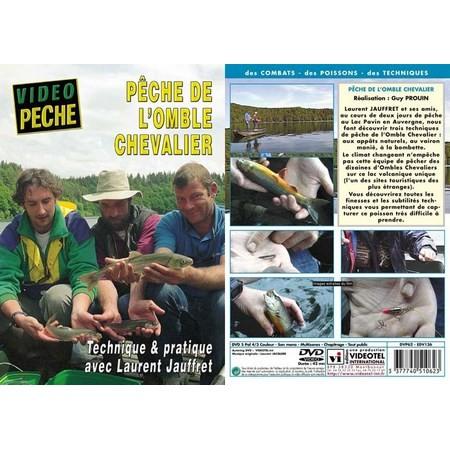 DVD - PECHE DE L'OMBLE CHEVALIER TECHNIQUE & PRATIQUE AVEC LAURENT JAUFFRET - PECHE DE LA TRUITE - VIDEO PECHE