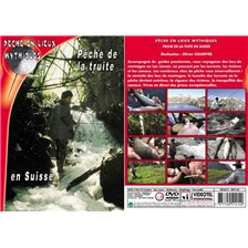DVD - PÊCHE DE LA TRUITE EN SUISSE  - PÊCHE DE LA TRUITE - PÊCHE EN LIEUX MYTHIQUES