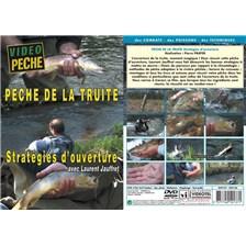 DVD - PÊCHE DE LA TRUITE : STRATEGIES D'OUVERTURE AVEC LAURENT JAUFFRET - PÊCHE DE LA TRUITE - VIDÉO PÊCHE