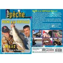 DVD - PECHE DU CARNASSIER A LA VERTICALE DE A À Z BATEAU ET FLOAT-TUBE - PECHE DES CARNASSIERS - TOP PECHE