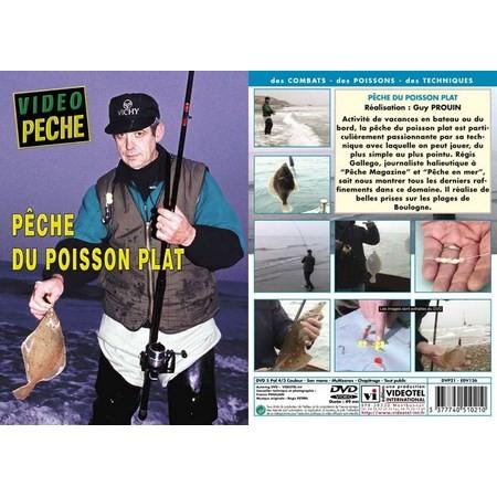 DVD - PECHE DU POISSON PLAT