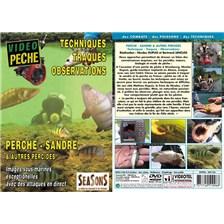 DVD - PERCHES, SANDRES ET AUTRES PERCIDES TECHNIQUE, TRAQUES, OBSERVATION - PECHE DES CARNASSIERS - VIDEO PECHE