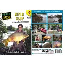 DVD - RIVER CARP : TECHNIQUES ET STRATÉGIES (2 DVD) AVEC JOHN LLEWELLYN - PÊCHE DE LA CARPE - VIDÉO PÊCHE