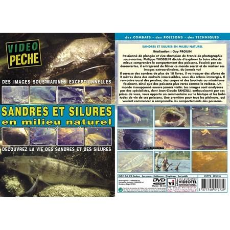 DVD - SANDRES ET SILURES EN MILIEU NATUREL DECOUVREZ LA VIE DES SANDRES ET DES SILURES
