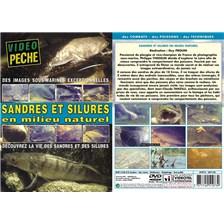 DVD - SANDRES ET SILURES EN MILIEU NATUREL DÉCOUVREZ LA VIE DES SANDRES ET DES SILURES - PÊCHE DES CARNASSIERS - VIDÉO PÊCHE
