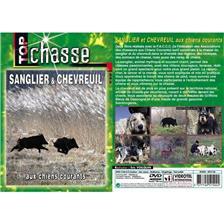 DVD - SANGLIER ET CHEVREUIL AUX CHIENS COURANTS  - CHASSE DU GRAND GIBIER - TOP CHASSE