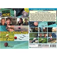 DVD - SECRETS DE MONTAGE CARPE PAR 8 PROS - LLEWELLYN, LEBRETON, CHOINIER, GIULIO, YDANEZ, SMITH, MIGEON ET GALTIÉ - PÊCHE DE LA CARPE - VIDÉO PÊCHE