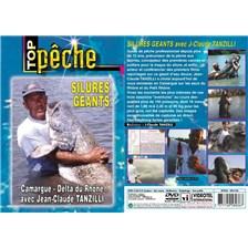DVD - SILURES GEANTS AVEC JEAN-CLAUDE TANZILLI - PECHE DES CARNASSIERS - TOP PECHE