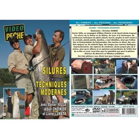 DVD - SILURES : TECHNIQUES MODERNES AVEC XAVIER VELLA, ALBAN CHOINIER - PECHE DES CARNASSIERS - VIDEO PECHE