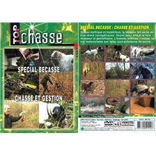 DVD - SPECIAL BECASSE, CHASSE ET GESTION  - CHASSE DU PETIT GIBIER - TOP CHASSE
