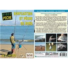 DVD - SURFCASTING ET PÊCHE DU BORD EN ATLANTIQUE  - PÊCHE EN MER - VIDÉO PÊCHE