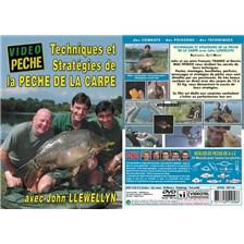 DVD - TECH. & STRAT. DE LA PECHE DE LA CARPE AVEC JOHN LLEWELLYN