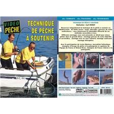 DVD - TECHNIQUE DE PECHE À SOUTENIR