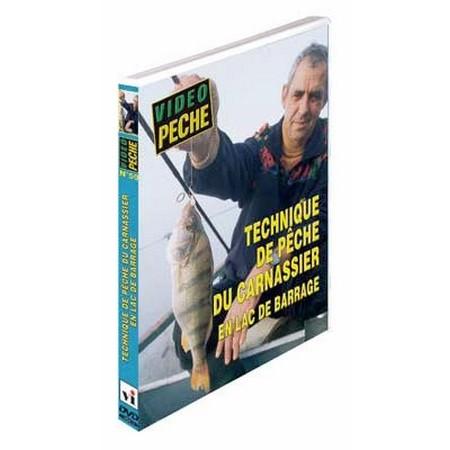 DVD - TECHNIQUE DE PÊCHE DU CARNASSIER EN LAC DE BARRAGE  - PÊCHE DES CARNASSIERS - VIDÉO PÊCHE