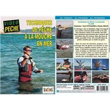 DVD - TECHNIQUES DE PECHE À LA MOUCHE EN MER  - PECHE EN MER - VIDEO PECHE