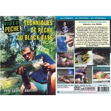 DVD - TECHNIQUES DE PÊCHE DU BLACK BASS AVEC LAURENT JAUFFRET - PÊCHE DES CARNASSIERS - VIDÉO PÊCHE
