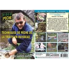 DVD - TECHNIQUES DE PECHE DE LA TRUITE EN RUISSEAU AVEC LAURENT JAUFFRET - PECHE DE LA TRUITE - VIDEO PECHE