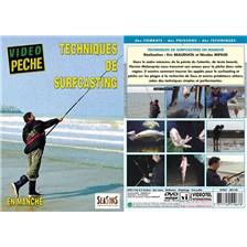 DVD - TECHNIQUES DE SURFCASTING EN MANCHE  - PÊCHE EN MER - VIDÉO PÊCHE
