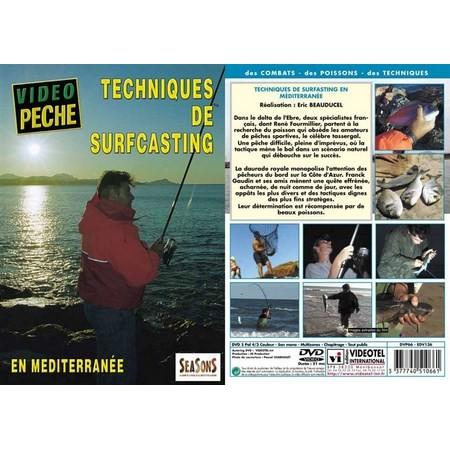 DVD - TECHNIQUES DE SURFCASTING EN MEDITERRANEE