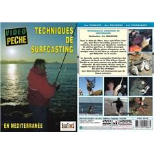 DVD - TECHNIQUES DE SURFCASTING EN MÉDITERRANÉE  - PÊCHE EN MER - VIDÉO PÊCHE