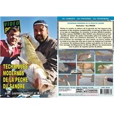 DVD - TECHNIQUES MODERNES DE LA PECHE DU SANDRE AVEC LAURENT JAUFFRET ET MARC DUPUY