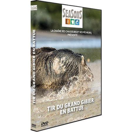 DVD - TIR DU GRAND GIBIER EN BATTUE - CHASSE DU GRAND GIBIER - SEASONS