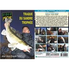 DVD - TRAQUE DU SANDRE TROPHEE AVEC JEAN-CLAUDE TANZILLI - PECHE DES CARNASSIERS - VIDEO PECHE