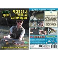 DVD - TRUITE AU VAIRON MANIÉ AVEC PATRICE PERNOT - PÊCHE DE LA TRUITE - VIDÉO PÊCHE